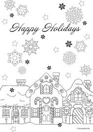 Small Picture Christmas Joy Happy Holidays Favoreads Coloring Club