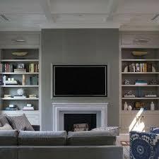 fireplace tv niche