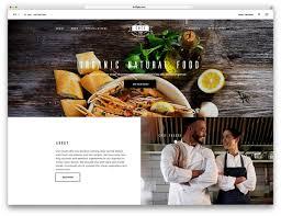 Dl Foodservice Design 47 Best Wordpress Restaurant Themes 2020 Colorlib