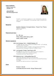 How To Make A Resume With No Experience Amazing 8819 How To Write A Resume With No Job Experience For High School
