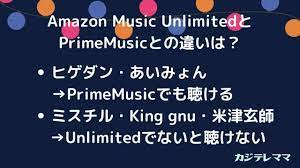 Amazon プライム アンリミテッド