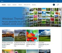 Themes Downloading Free Download Windows 10 Themes From Store For Free