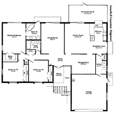 3 bedroom apartmenthouse plans modern house floor plans
