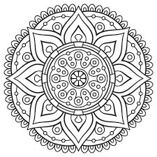 Small Picture Mandala Coloring Page Free Good Adult Mandala Coloring Pages