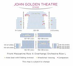 John Golden Theatre Seating Chart Nyc Golden Theatre Shubert Organization