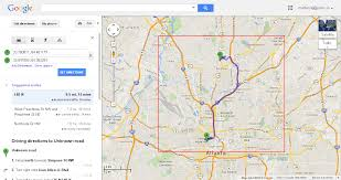 how can i specify google map with driving direction in jquery