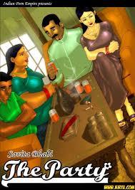 Savita Bhabhi Episode 3 The Party Kirtu Comics