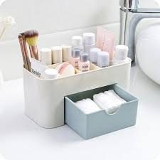 urijk bathroom shelf makeup organizer cosmetic storage box