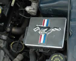 mustang fuse box cover ebay Mustang Fuse Box 1998 2004 mustang polished chrome fuse box cover w tribar running horse emblem mustang fuse box diagram