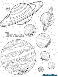 Solar System Coloring Pages Lezincnyccom