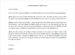 Sample Personal Character Reference Letter Immigration Format For