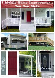 replacement exterior door for mobile home. 9 innovative mobile home improvement ideas that you can do! | front porches, porch and house replacement exterior door for