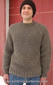 Men's Sweater Patterns Simple Men's Sweater Knitting Pattern Free Free Knitting Patterns