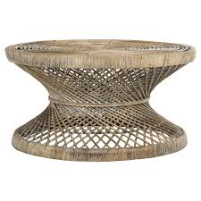 rattan round coffee table eclecticgoods com