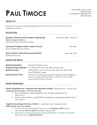 electrical - Entry Level Electrical Engineering Resume