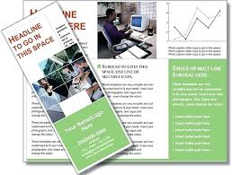 Brochure Templates On Microsoft Word Brochure Insert Template