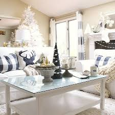 coffee table styling early holiday