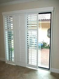 glass front door coverings glass door shades medium size of best vertical blinds for sliding half