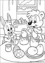 Easter Coloring Pages On Coloring Bookinfo