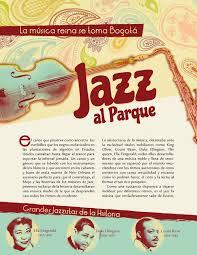 Jazz al Parque Articulo de Revista/ Magazine Article by Alba Pabón, via  Behance | Magazine articles, Jazz, Editorial