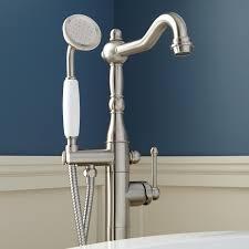 wonderful moen floor mount tub filler intended sidonie freestanding faucet with hand shower bathroom