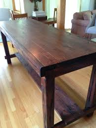 Kitchen Counter Height Tables Counter Height Farm House Table Kitchen Tutorials Pinterest