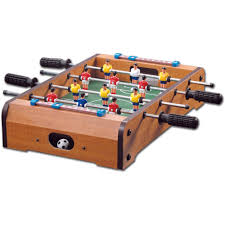 Miniature Wooden Foosball Table Game Giant Wood Foosball Table with Legs 100 Walmart 32