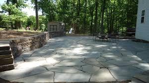 diy flagstone patio over concrete. natural dry laid flagstone, pennsylvania bluestone diy flagstone patio over concrete
