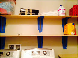 painting shelves ideasLaundry Closet Ideas Stackable Painting Shelf Bracket Diy Shelves