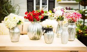 cristina crafts faux mercury glass vases