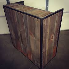 hand crafted small reception desk point of desk register by cauv design llc custommade com