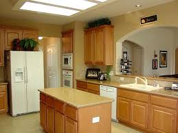 Small Picture KITCHEN DESIGNS with Oak Cabinets and White Appliances Best