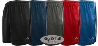 <b>Big</b> & Tall Men's Lightweight Mesh Athletic Shorts by Champion <b>3XL</b> ...