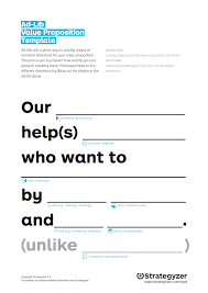 Value Proposition Template AdLib Value Proposition Template Adlibs Are A Cyberlabe 18
