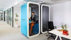 Image Closet You Can Lock Out The World In This Tiny Office Pod Real Living You Can Lock Out The World In This Tiny Office Pod Rl