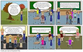 Business Management Class Storyboard par waltersce