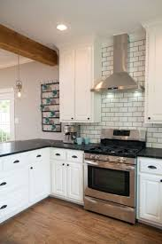 Red Brick Flooring Kitchen Kitchen Room 2018 Retro Kitchen Floor With Blue White Ceramic