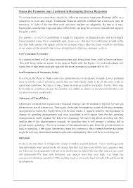research paper rewards accruing from economic recession 15