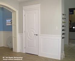 Tall Wainscoting shaker wainscoting kit 38 high i elite trimworks 5847 by xevi.us