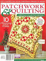 eQuilter Australian Patchwork & Quilting Magazine - Vol 27, No 6 & Australian Patchwork & Quilting Magazine - Vol 27, No 6 Adamdwight.com