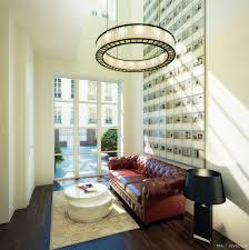 red leather sofa interior design ideas