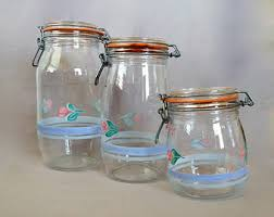 Ways To Decorate Glass Jars Painted Glass Jars Etsy 88