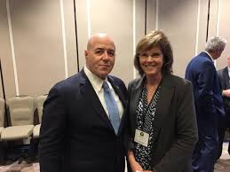 """Arkansas Department of Corrections on Twitter: """"ADC Director Wendy Kelley  took time to to thank former @NYPDnews Police Commissioner @BernardKerik  for his opening keynote address during the @ASCALeadership Winter Meeting  in New"""