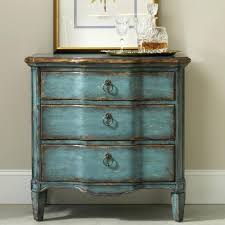 antique distressed furniture. Turquoise Furniture Wood Stain Vintage Distressed Painted Antique