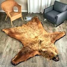 fake animal skin rugs rm faux uk