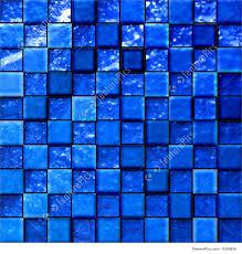 Blue Mosaic Tiles Bathroom