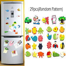 animals fridge magnets for kids 24pcs wood 5pcs silicone refrigerator magnet toy for toddlers learning colors shapes children educational magnetic