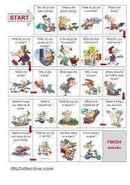 Present simple vs. present continuous speaking activity | enkku ...