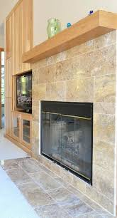 travertine tile fireplace tile fireplace surround travertine tiles fireplace pic