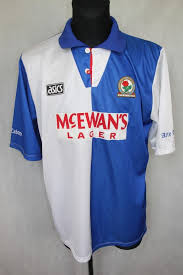 To install this kit you must to extract the kits at the dataplayer extures. Blackburn Rovers 1994 1995 Home Shirt Jersey Asics Premier League Champions Xxl Asics Vintage Football Football Shirts Mens Tops
